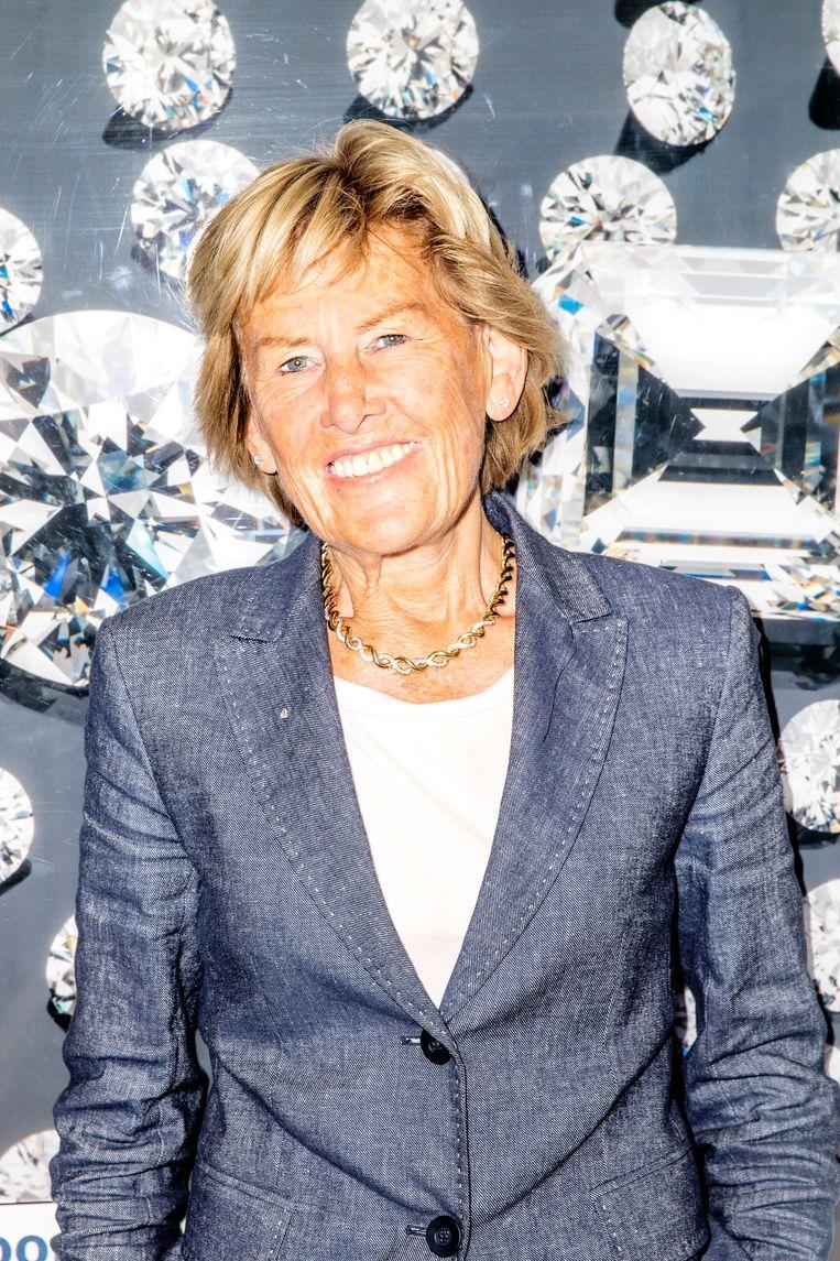 Annemieke Jansen: 'Het gaat om de vier c's. Eigenlijk vijf. Carate, colour, clarity, cut and dan de vijfde: Coster.' Beeld Marie Wanders