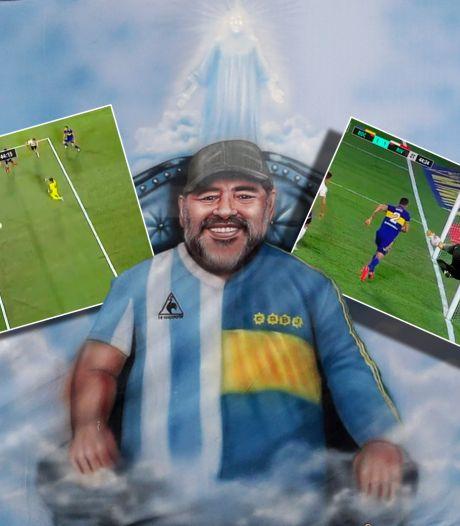 Voorkomt (onzichtbare) 'Hand van God' goal River Plate in Argentijnse kraker?