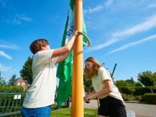 De groene vlag wappert bij het Zone.college in Borculo: 'We zijn nu een Eco-School!'
