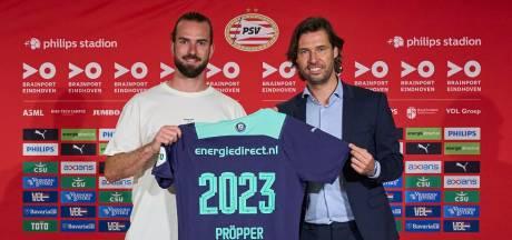 Het duurde even, maar Davy Pröpper is op tijd binnen voor de eerste training van PSV