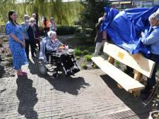 Loon op Zand heeft er weer een 100-jarige én een bankje bij