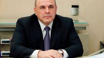 Russische premier besmet met coronavirus