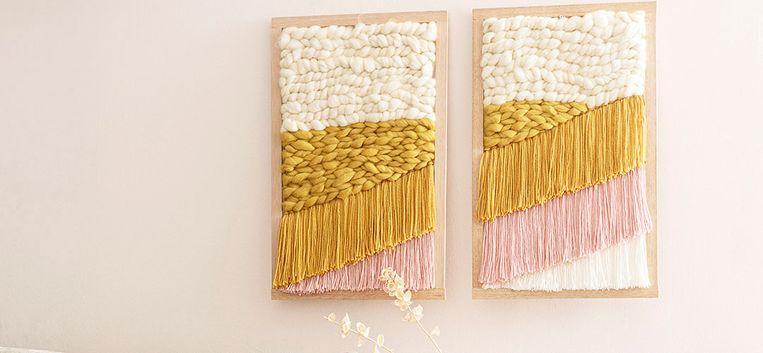 Lekker fröbelen: zó maak je deze prachtige wandhanger gewoon zelf