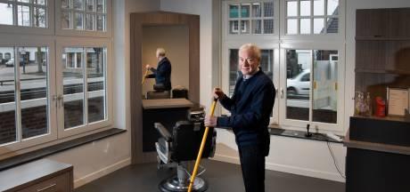 Kapper Piet Korthuis kapt er vanwege gezondheid mee: 'Permanent gesloten'