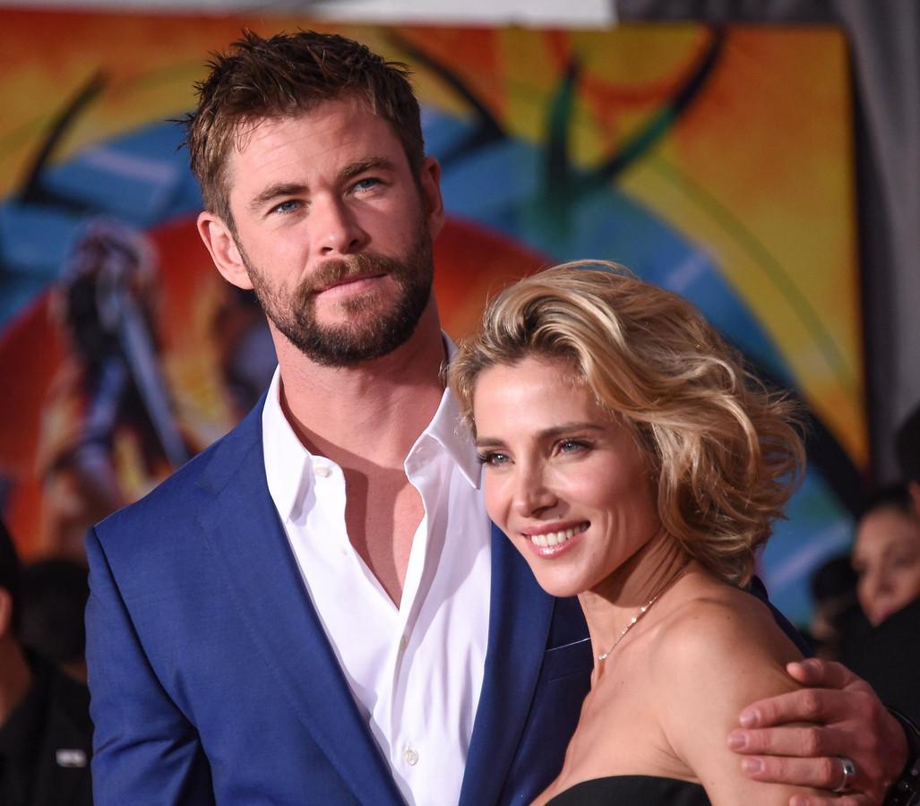 Chris Hemsworth et Elsa Pataky.