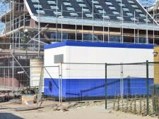 Container met bouwspullen uitgebrand in Etten-Leur
