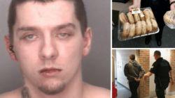 Gezochte Amerikaan verliest weddenschap met politie en komt zichzelf aangeven, mét donuts