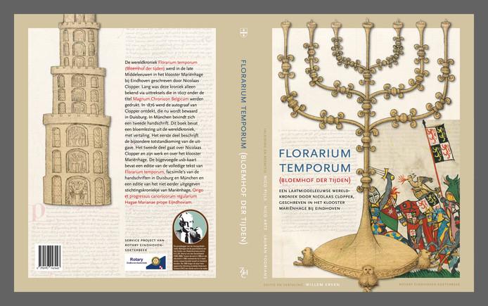 De omslag van het nieuwe boek Florarium Temporum.