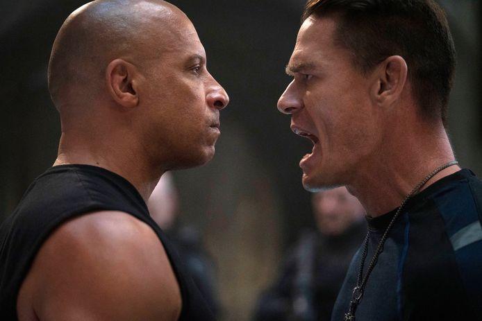 """Vin Diesel et John Cena dans """"F9."""""""