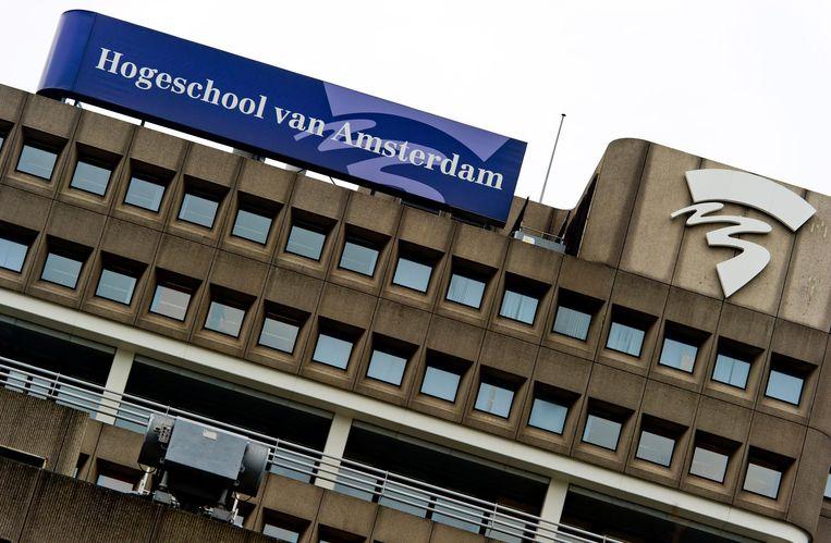 Hogeschool van Amsterdam Beeld anp