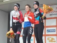 Wereldkampioene Inge van der Heijden nu ook de kampioene van Nederland