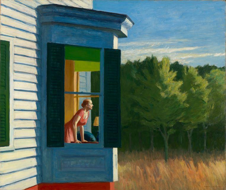 Edward Hopper, 'Cape Cod Morning', 1950. Beeld Smithsonian American Art Museum