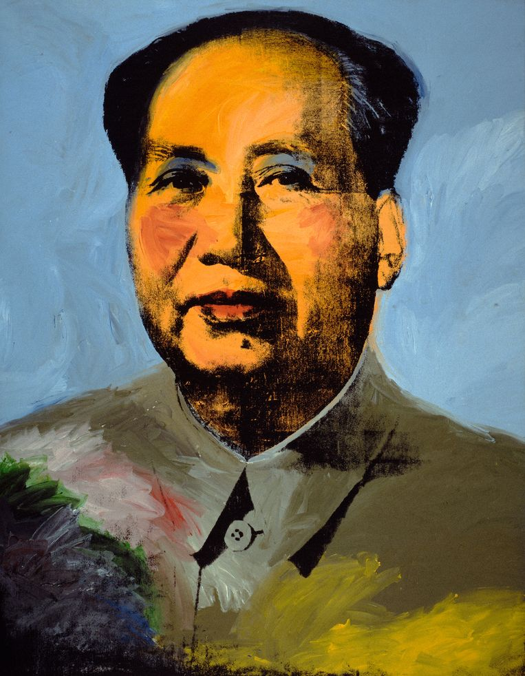 ► Mao, 1972. Beeld © The Andy Warhol Foundation for the Visual Arts, Inc. / Artists Rights Society (ARS) New York