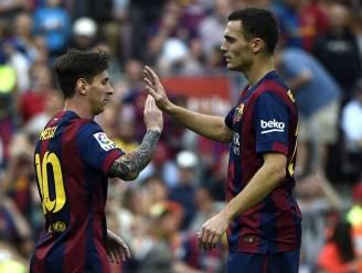 Barça geeft 2-0 voorsprong weg na wissel Vermaelen