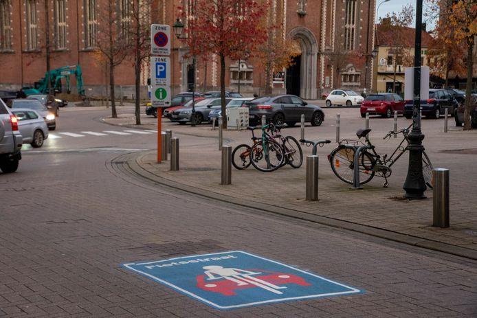 De centrumstraten worden officieel fietsstraten.