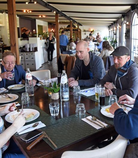 Gratis lunch in Aardenburg is een hit
