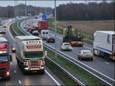 Verkeer wacht omleiding: A73 naar zuiden bij Boxmeer dit weekend op slot