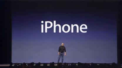 Dag op dag: zo introduceerde Steve Jobs 12 jaar geleden de allereerste iPhone