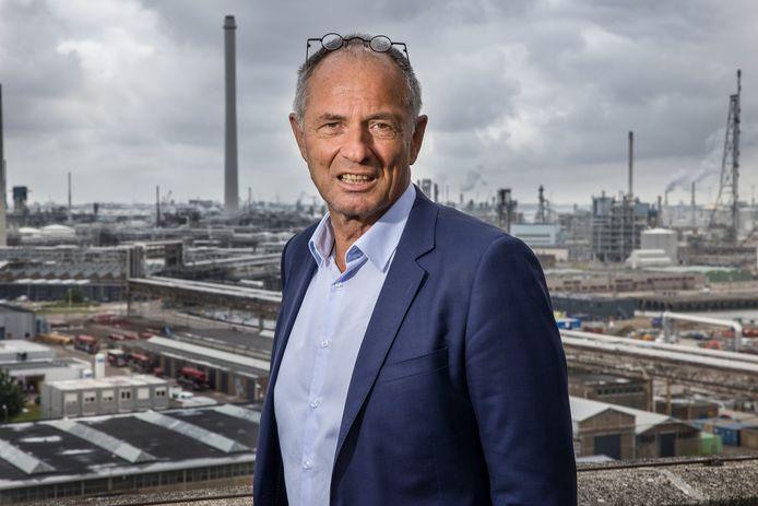 Joris van Winsen, directeur Shell Pernis.