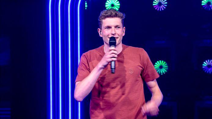 Guus Huygen maakte indruk in de eerste aflevering van 'K2 zoekt K3'.