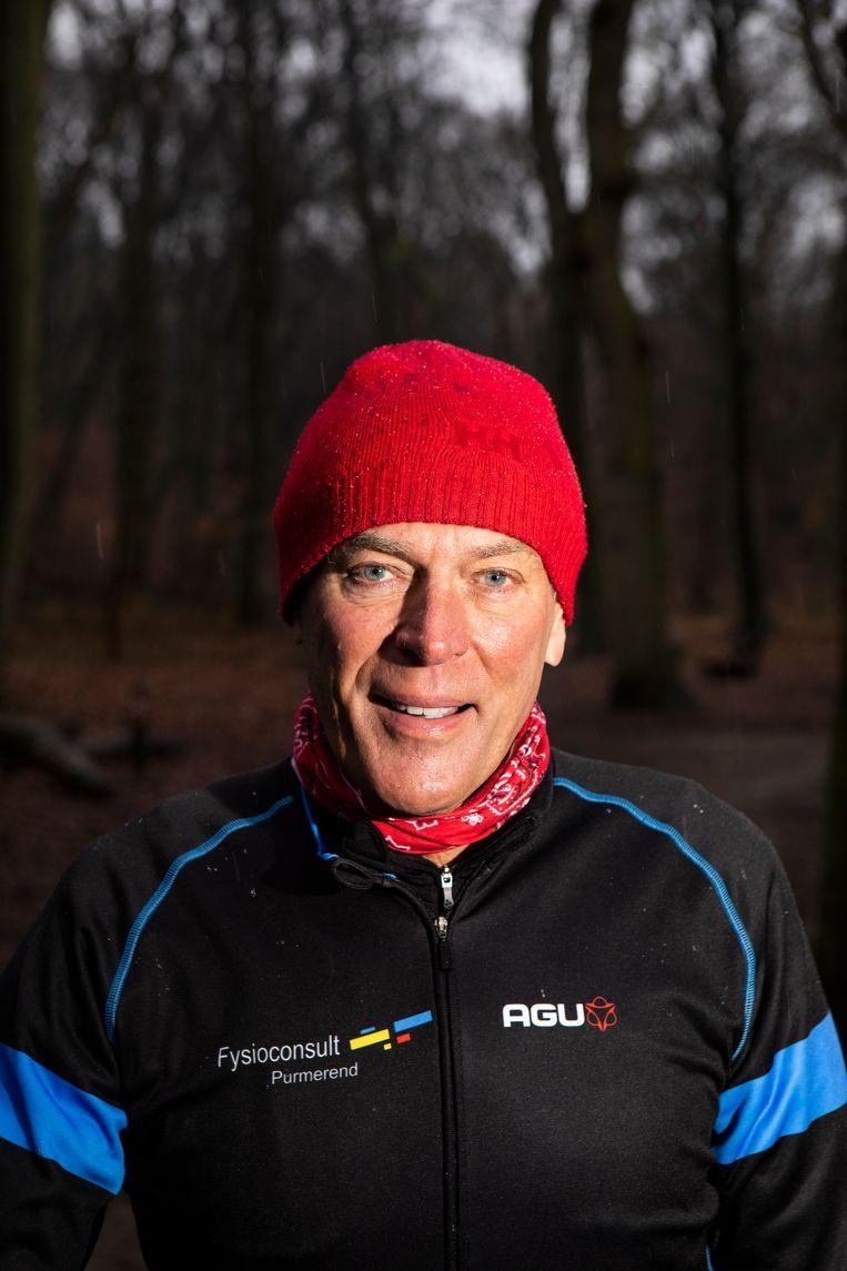 Bergen - 04-02-2019  Ard Schenk: 'Als het ijs hard genoeg is, moeten we een manier kunnen verzinnen om de wedstrijd tóch te houden.' Beeld Jan-Dirk van der Burg