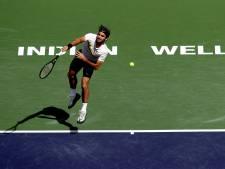 Federer ontsnapt aan eerste nederlaag in 2018