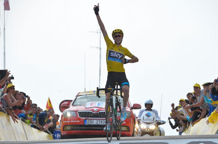 In 2013 legde Chris Froome de basis voor zijn Tourzege op de Mont Ventoux. Beeld BELGA