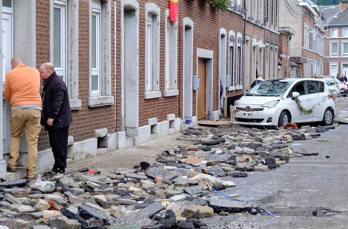Ensival, en province de Liège, le 16 juillet.
