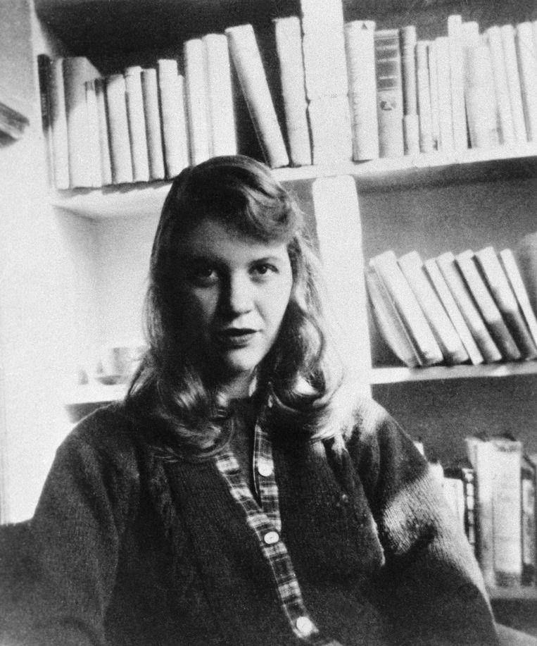 Sylvia Plath: de verwarring van een meisje in de jaren vijftig, gevangen tussen grootse dromen en een huisvrouwenbestaan. Beeld Bettmann Archive