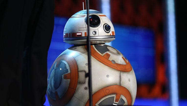 De echte BB-8 aan het woord op de 21st Annual Critics' Choice Awards. Beeld Christopher Polk/Getty Images for The Critics' Choice Awards