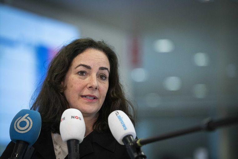 Burgemeester Halsema: 'Het kan een vrolijke week worden, maar de coronaregels gelden gewoon.' Beeld ANP