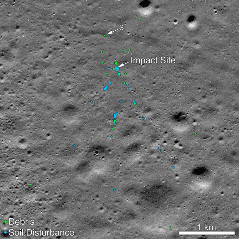 De Indiase maanlander steeg op op 22 juli.