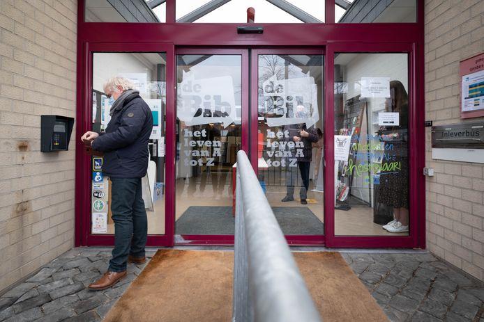 De bibliotheek wordt toegankelijk bij onbemande openingsuren.