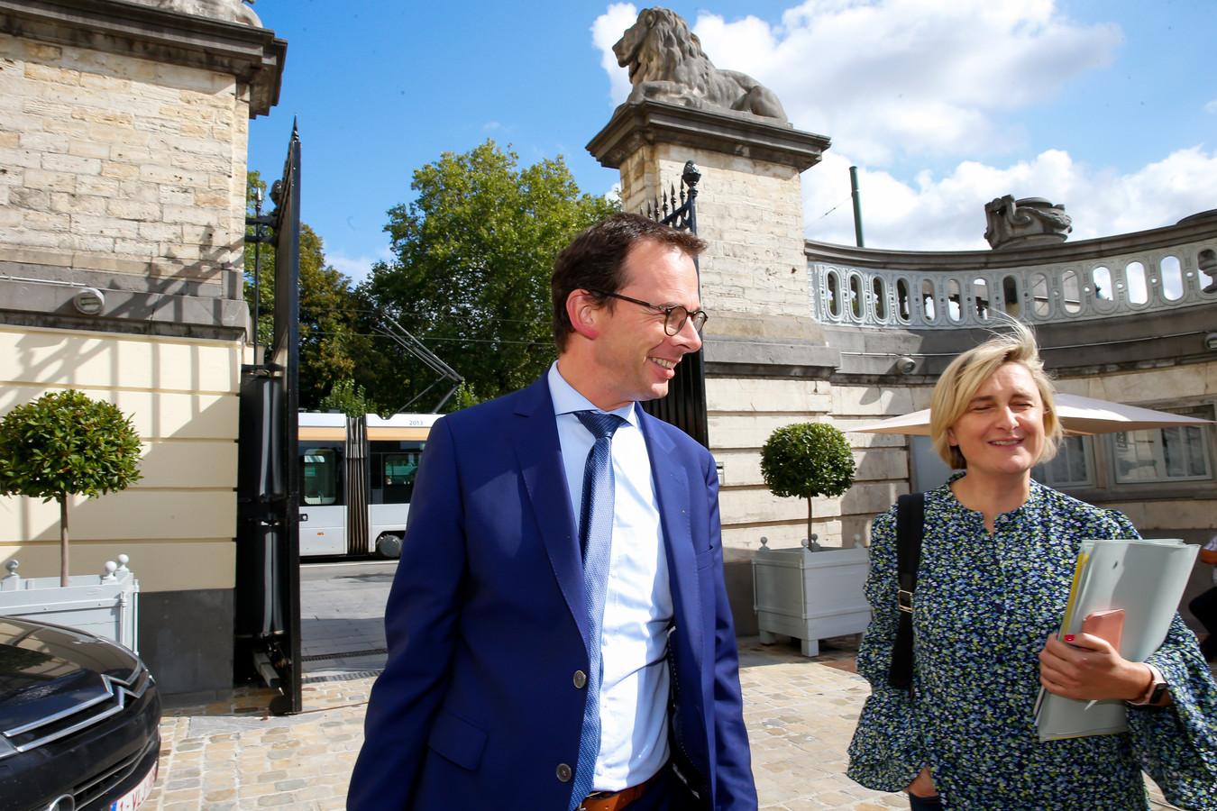 Worden zowel Wouter Beke als Hilde Crevits minister voor CD&V?