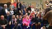 Sinterklaas en Zwarte Piet duiken op in Horebeke