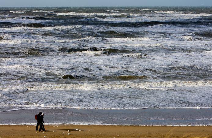 Het strand van Zandvoort, foto ter illustratie