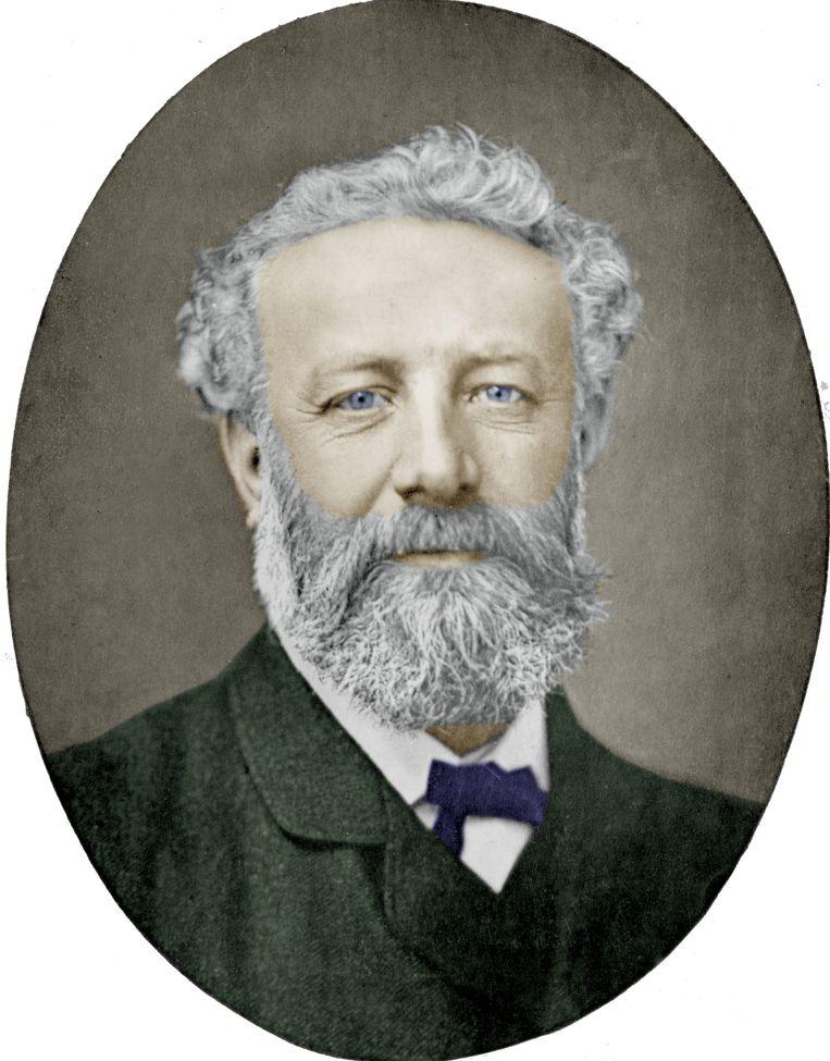 Jules Verne (1828-1905) Beeld Nadar / Getty
