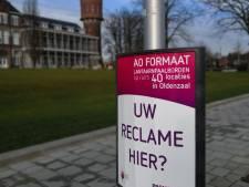 City-display's vervangen reclameborden in Oldenzaal