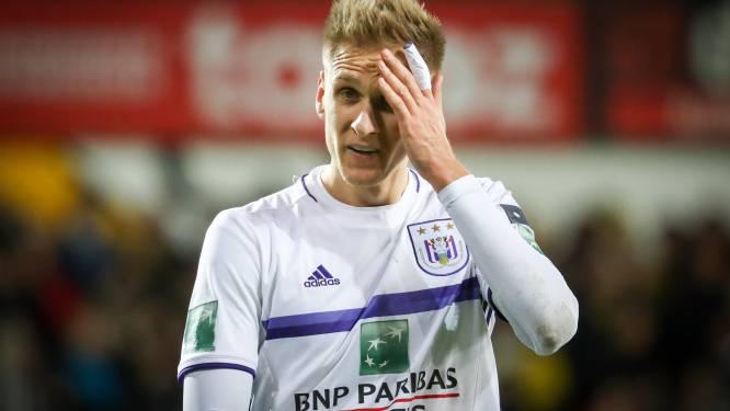 Inspiratieloos Anderlecht kan ook niet scoren op Daknam en laat leidersplaats liggen