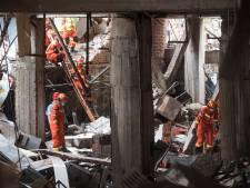 Un complexe résidentiel ravagé par une explosion de gaz en Chine, 25 morts
