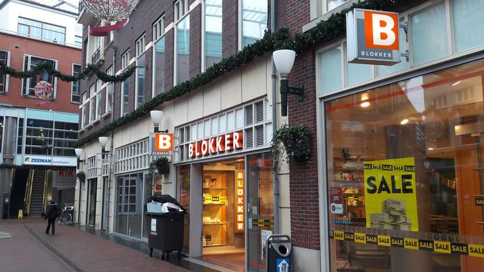 De huidige winkel van Blokker aan het Brouwersplein in de Arnhemse binnenstad.