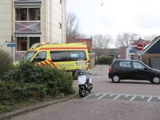 Scooter aangereden door auto in Gouda