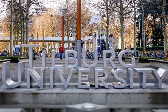 De campus van Tilburg University (archieffoto).