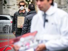 Bossche kunstenaar doet aangifte tegen beveiligers Forum voor Democratie