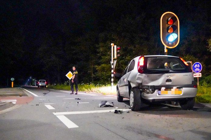 Het ongeluk gebeurde op de Geldropseweg in Heeze.