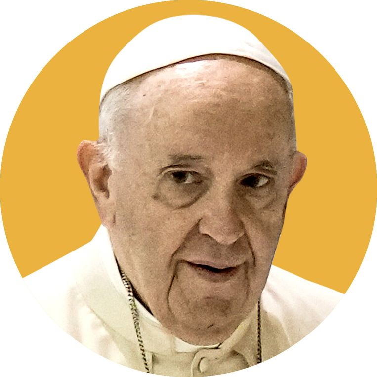 Paus Franciscus. Beeld ID/ photo agency