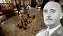 Het praalgraf van  Francisco Franco (1892-1975) binnenin het mausoleum.