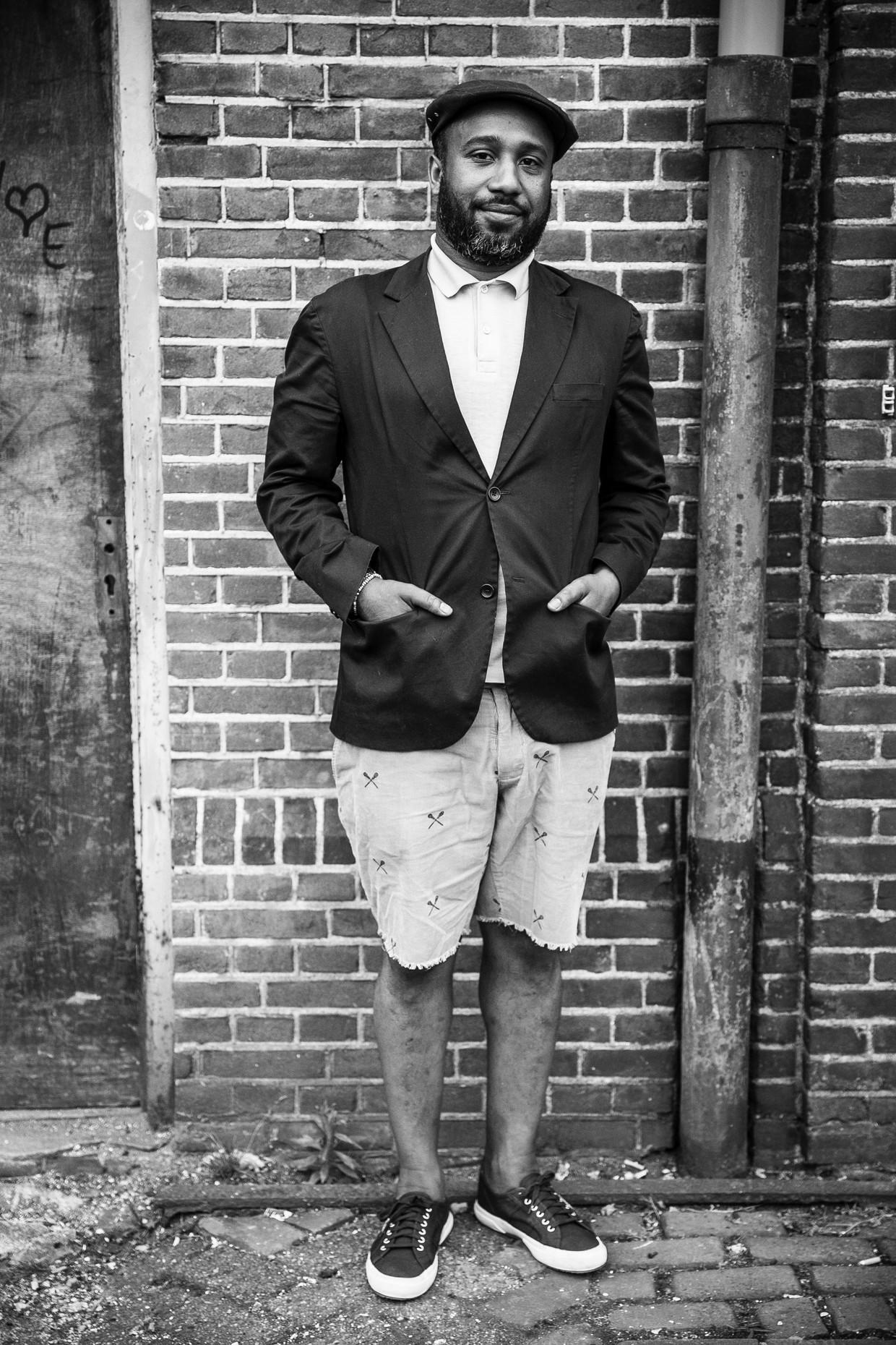 Clyde Semmoh stond bekend als een levensgenieter. Beeld Amaury Miller