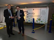"""Luchtzuiveringsinstallatie maakt van vernieuwde parking Roosevelt 'long in de stad': """"Lucht ondergronds is nu gezonder dan buitenlucht"""""""