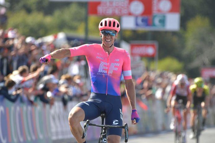 Vanmarcke vorig jaar in de Bretagne Classic.